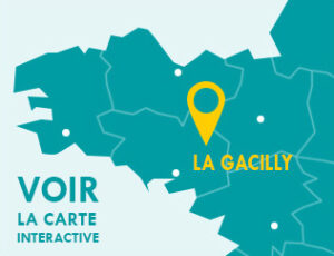 Carte interactive de la Gacilly.