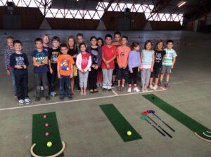 Initiation au golf avec Marcel Madinangue
