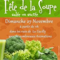 Affiche de la Fête de la soupe 2016 à La Gacilly