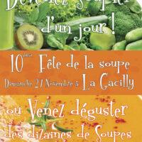 Dépliant Flyer de la Fête de la soupe 2016 à La Gacilly